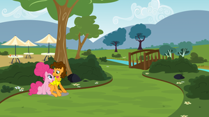 Pinkie and Cheese Sandwich at the course