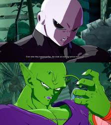 Jiren and Piccolo Interaction (FighterZ)