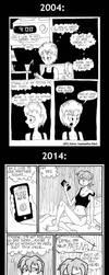 2004 vs 2014 by Dick-Kittenheart