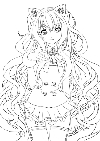 vocaloid seeu chibi coloring pages - photo#6