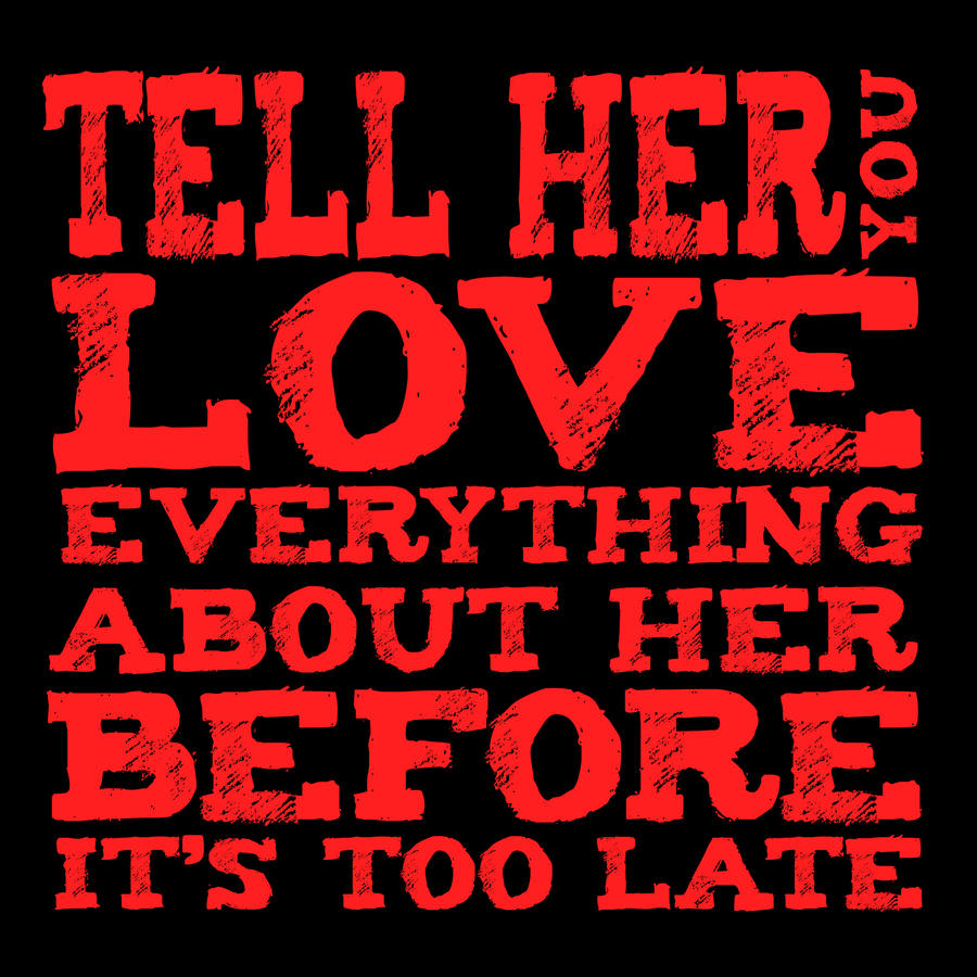 how to tell if you are in love with her