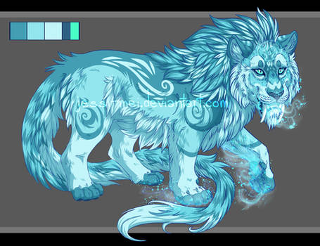 Ice Cat Adoptable [CLOSED]