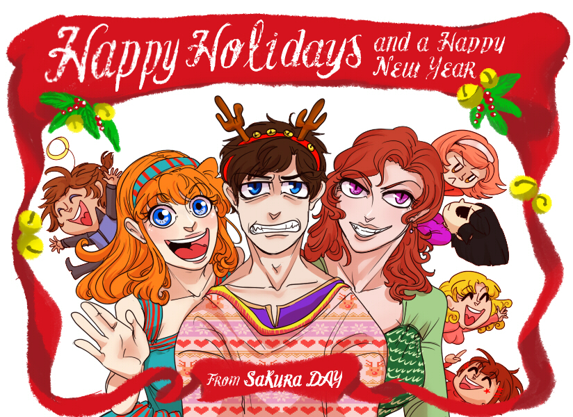 Happy Holidays 2014 [SAKURADAY]