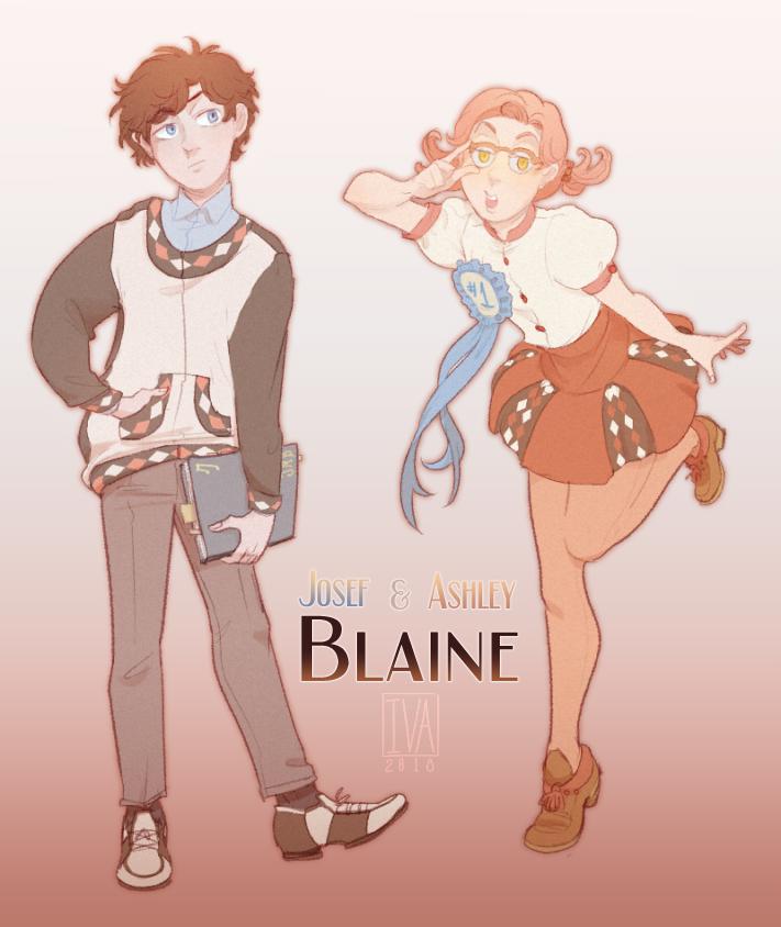 Josef and Ashley Blaine [SAKURA DAY] by minightrose12