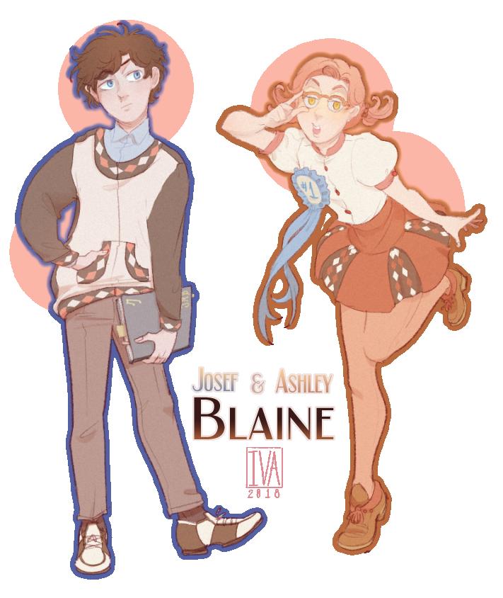 Josef and Ashley Blaine [SAKURA DAY] _transparent by minightrose12