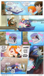 13-90 'We're paddling wrong!' by minightrose12