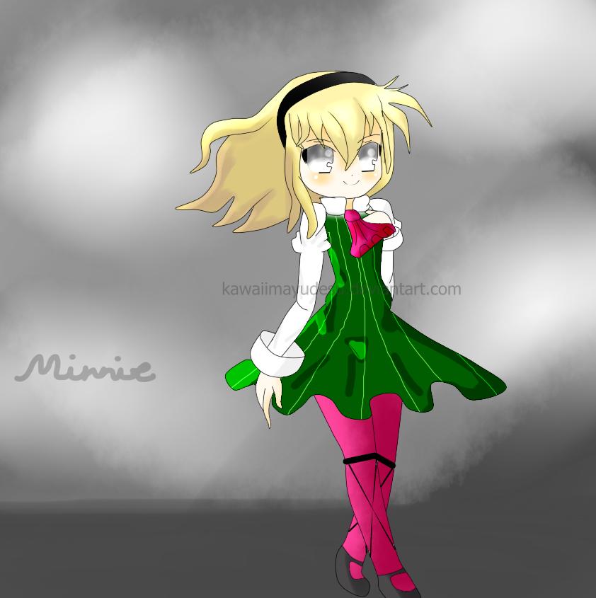Little Cute Demon Girl - Minnie by KawaiiMayuDesu