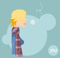 Joy in Every Snowflake by abzdragon