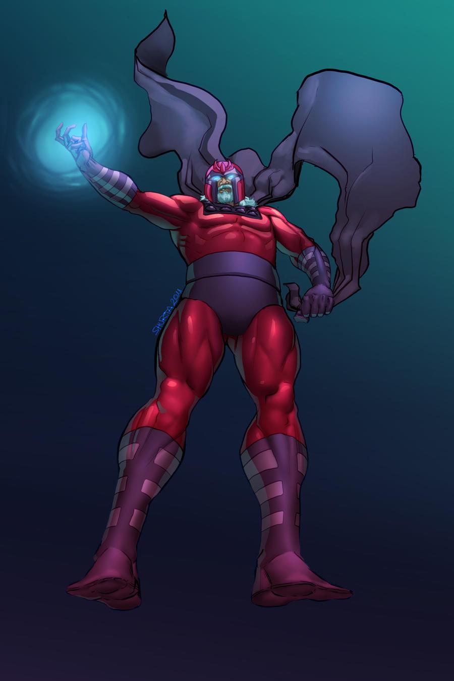 Magneto by shurita