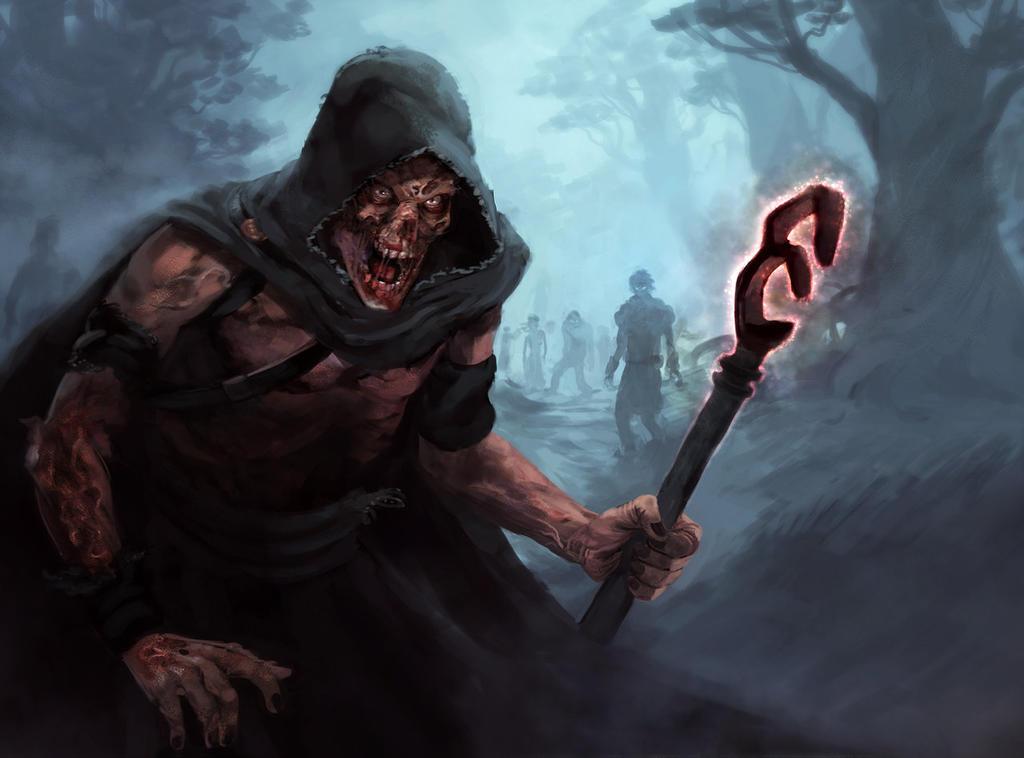 Zombiemancer by shurita