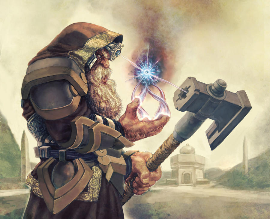Dwarf Crusader by shurita