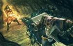 Night Cauldron Cult wizard vs Tank Dwarf