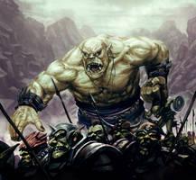 Siege Troll by shurita