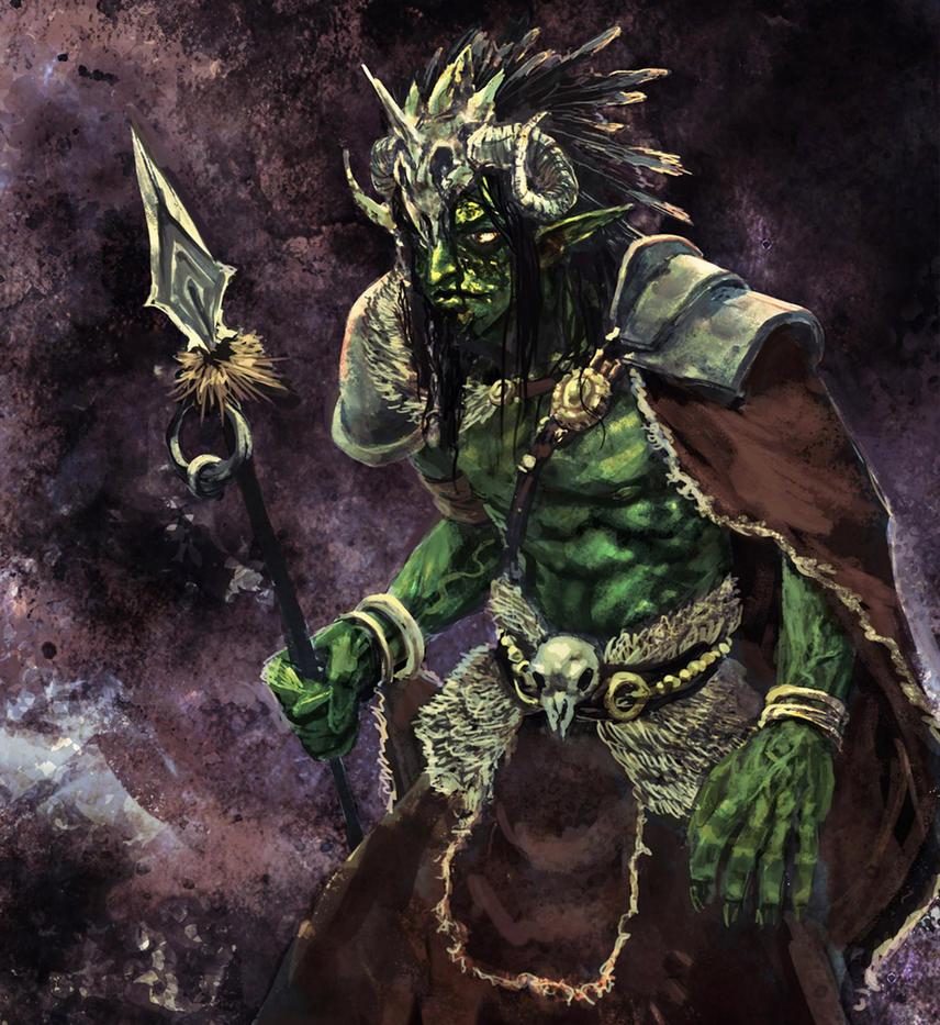 Goblin Shaman King by shurita