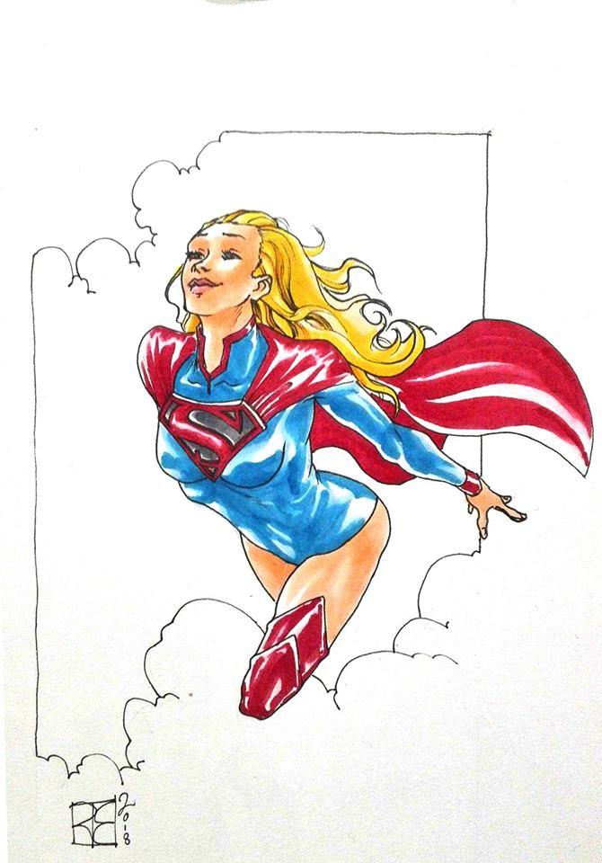 Supergirl by shurita
