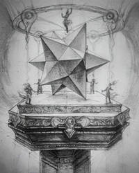 Regular Dodecahedron Star