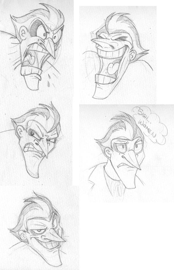 Joker Faces by Toonfused
