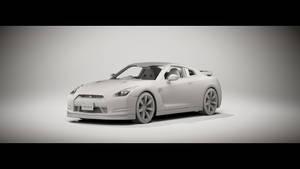 2009 Nissan GT-R Clay