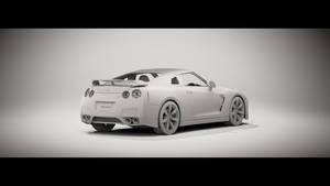 2008 Nissan GT-R Clay 2