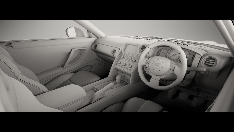 Nissan GT-R Clay Interior by advanRE7 on DeviantArt