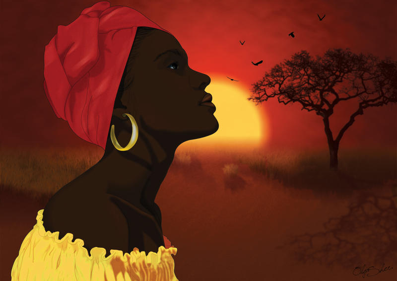 Mama Africa by OlgaSher