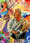 David Gilmour by ZuzanaGyarfasova