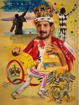 Freddie Mercury by ZuzanaGyarfasova
