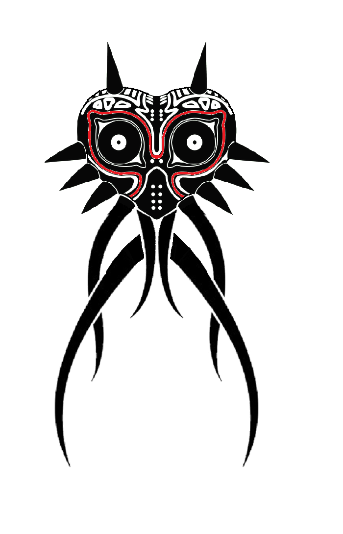 Majoras Mask Tattoo ByMajoras Mask Tattoo