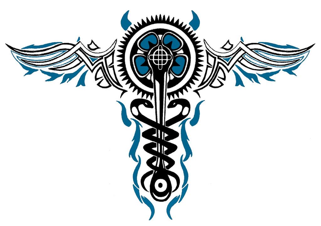 Blue Good Karma Evil Caduceus V2 By Mgs013 On Deviantart