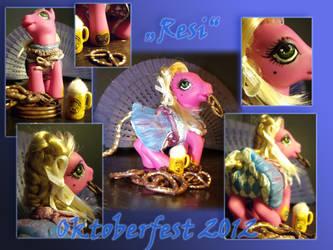Oktoberfest custom - Resi by g33kgirl1980