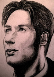Fox Mulder by g33kgirl1980