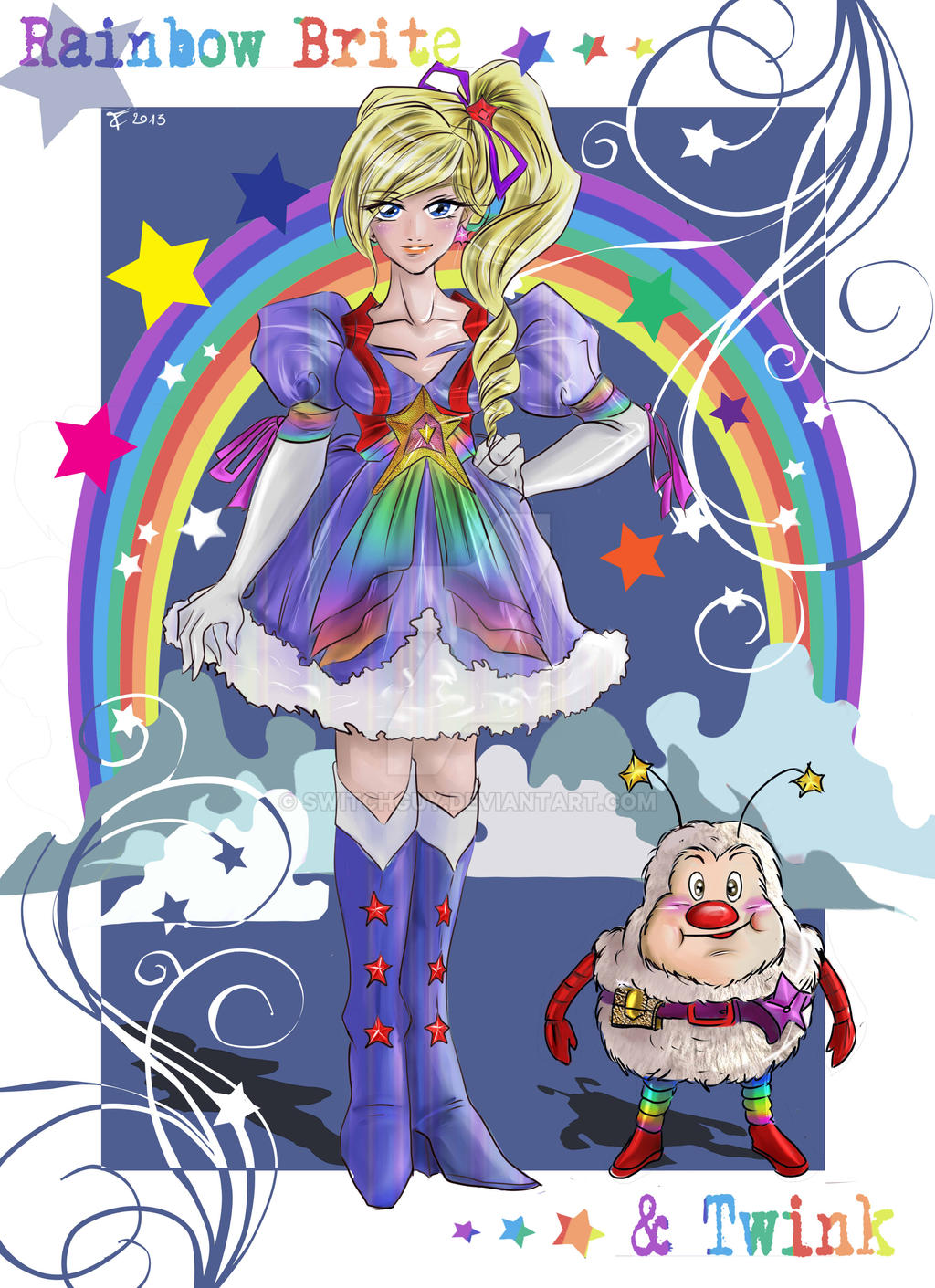 Rainbowbrite 2014 by switchguy