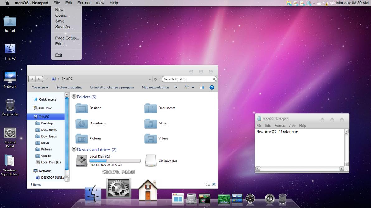 Mac OSX Leopard On Win10 by hs1987