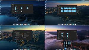 macOS Big Sur Dynamic Dark theme for Windows 10