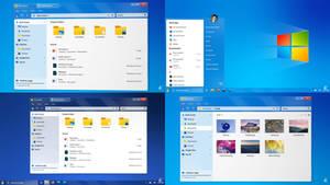 Windows 7 Modern Concept