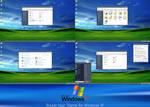 Windows XP Royale Noir Theme for Windows 10