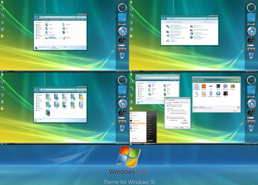 Windows Vista Theme for Windows 10