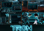 Tron Legacy Permium Theme for Windows 10 by protheme