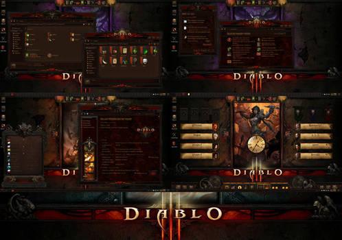 DIABLO III Permium Theme for Windows 10