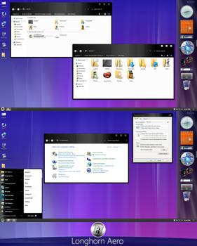 Longhorn Aero Theme for Windows 10