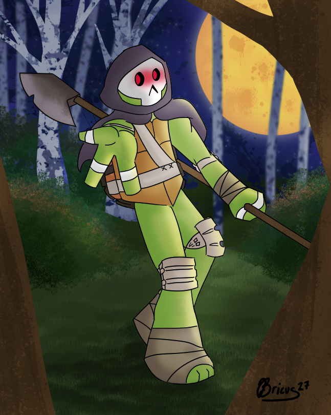 Forest Donatello by Bricus27