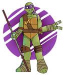 The purple turt