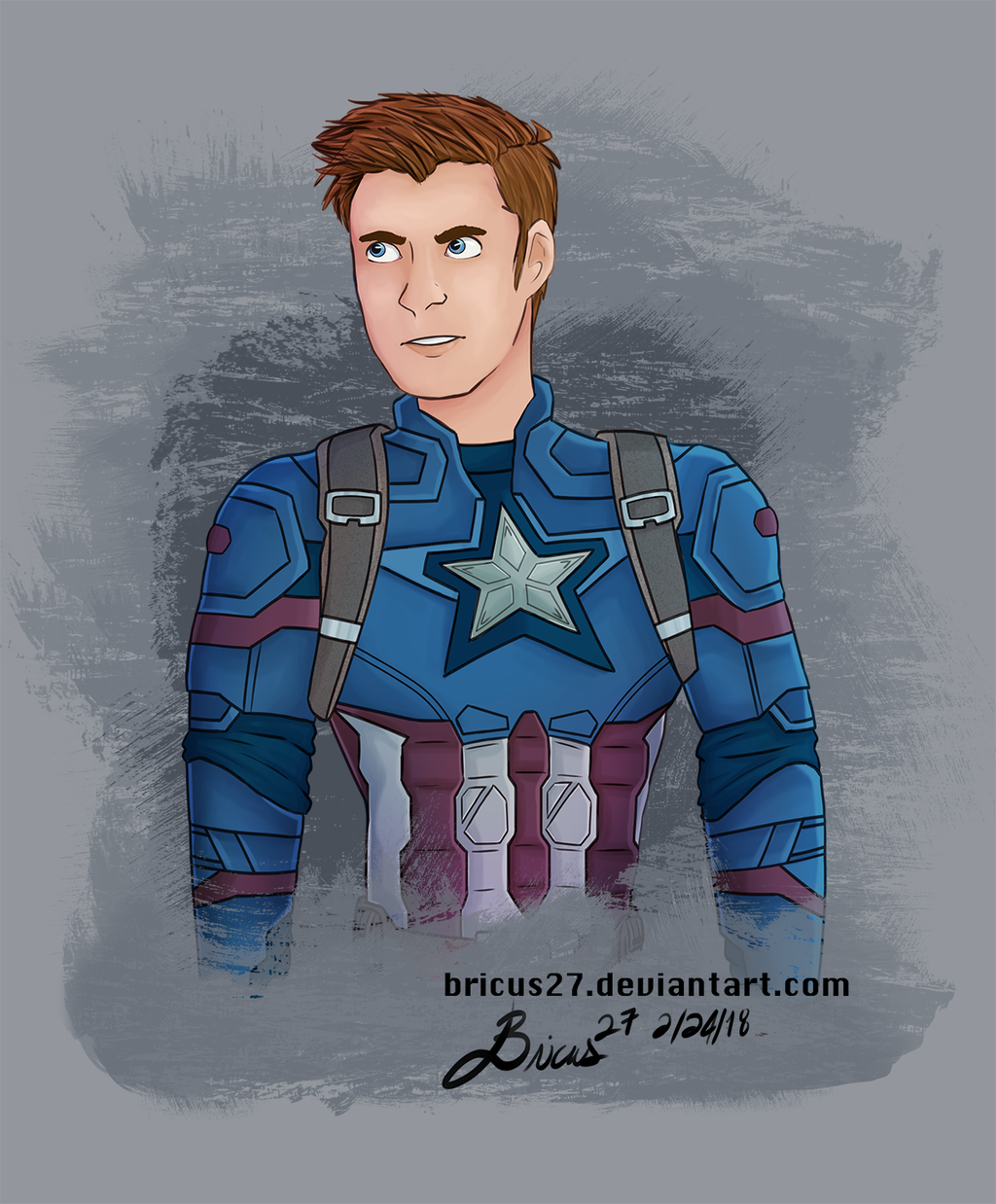 C is for CAPTAIN AMERICA by Bricus27