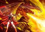 Dragon Witch by chantilin