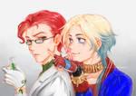 Genderbend Ivy and Harley