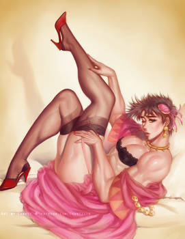 Pin-up Tequila Girl Joseph