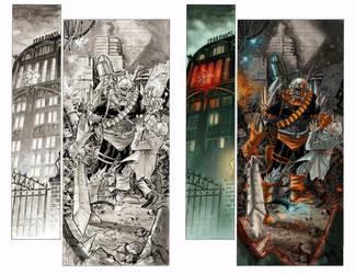 Color sample Superman Batman page15 by MariaSantaolalla