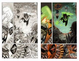 Color sample Superman Batman page16 by MariaSantaolalla