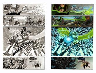 Color sample Superman Batman page17 by MariaSantaolalla