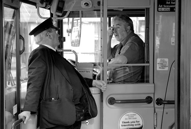 Dublin Bus by SaltedSlug